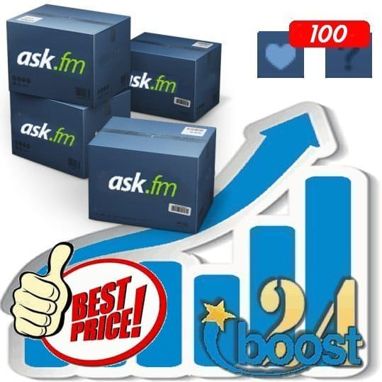 Buy 100 ask.fm Likes