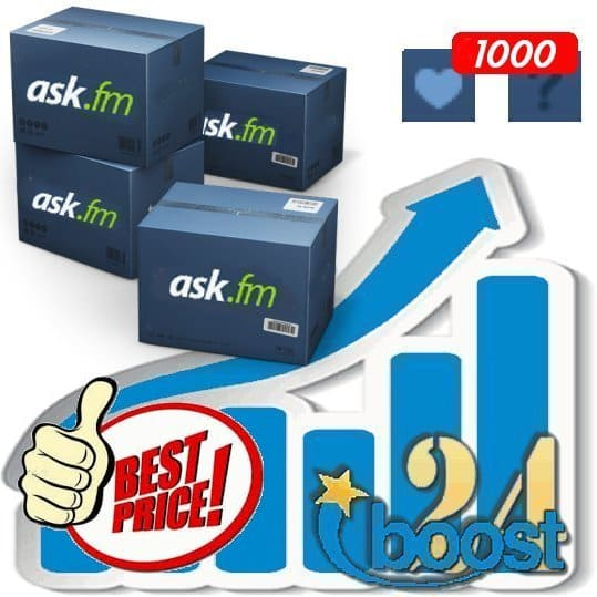 Buy 1000 ask.fm Likes / Fans