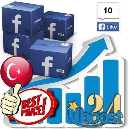 Buy 10 Facebook Likes / Fans