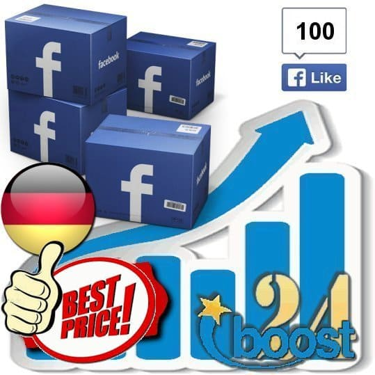 Buy 100 Facebook Likes / Fans