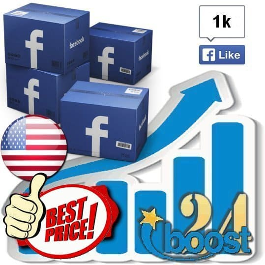 Buy 1000 Facebook Likes / Fans