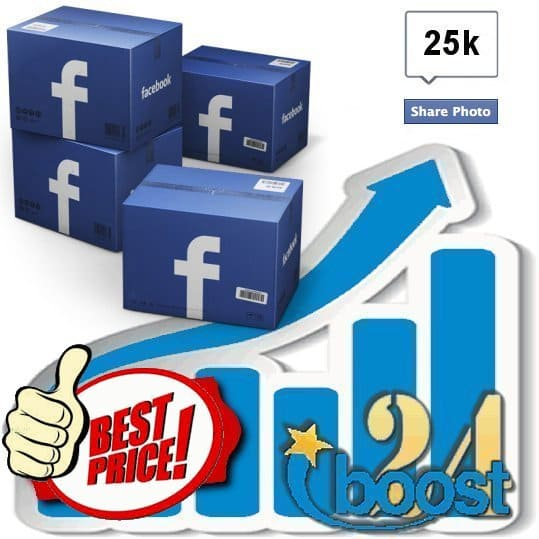 Buy 25.000 Facebook Photo Shares