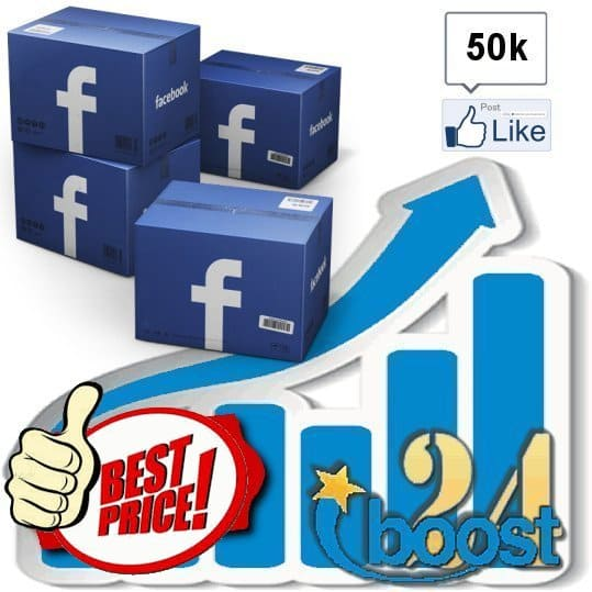 Buy 50.000 Facebook Post Likes