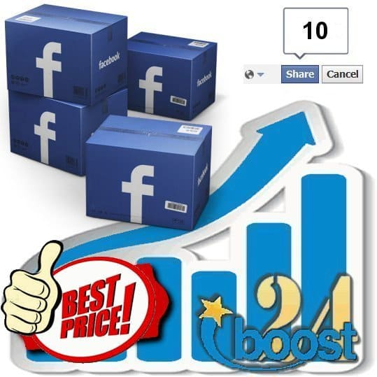 Buy 10 Facebook Post Shares