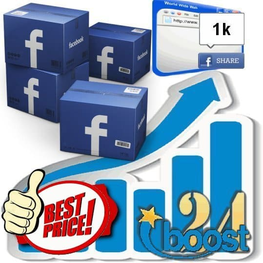 Buy 1000 Facebook shares