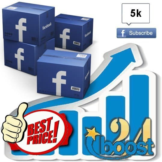 Buy 5.000 Facebook subscribers