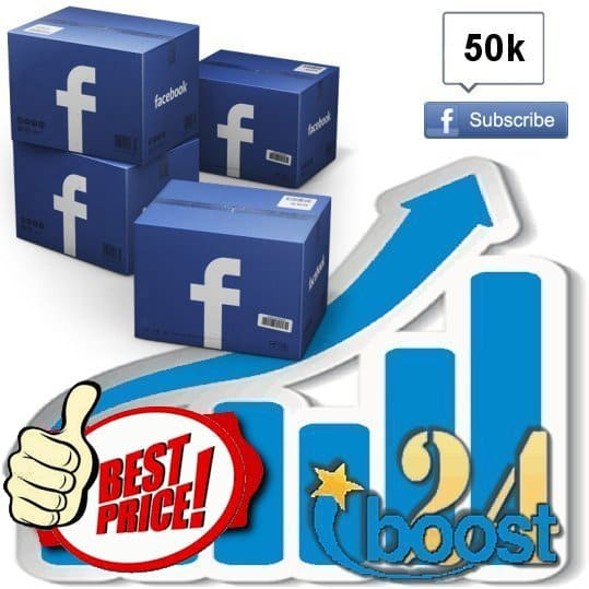 Buy 50.000 Facebook subscribers