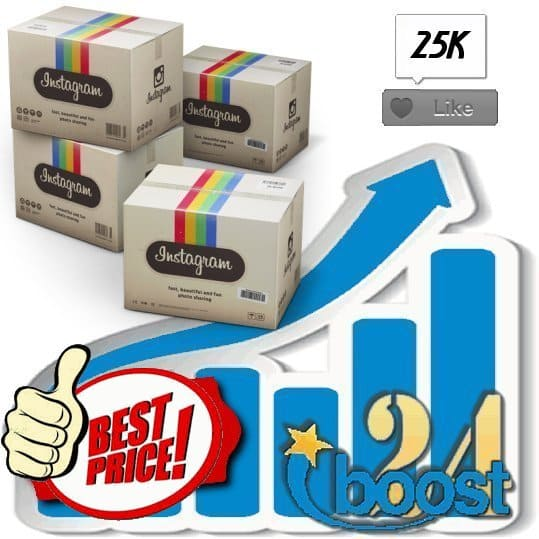 Buy 25000 Instagram Likes