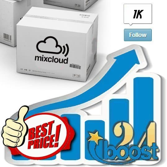 Buy 1.000 Mixcloud Followers