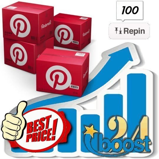 Buy 100 Pinterest Repins