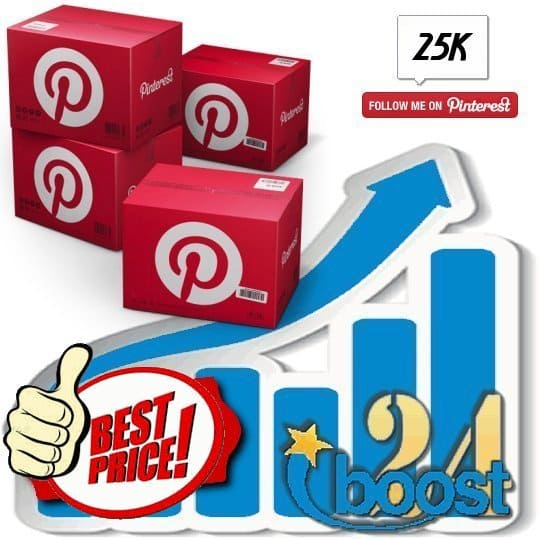 Buy 25.000 Pinterest Followers