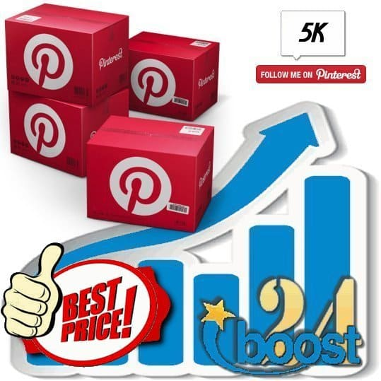Buy 5.000 Pinterest Followers
