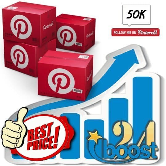 Buy 50.000 Pinterest Followers