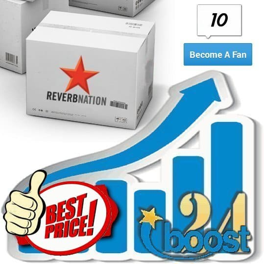 Buy 10 Reverbnation Fans