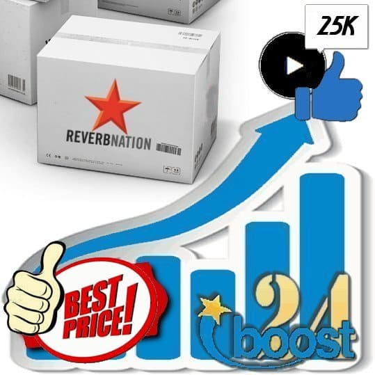 Buy 25.000 Reverbnation Song Likes