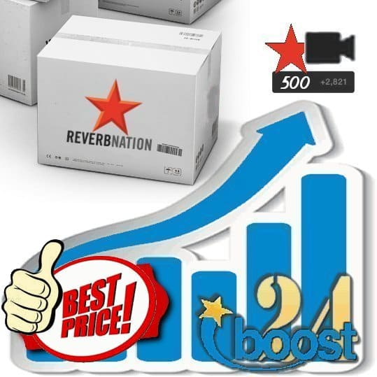 Buy 500 Reverbnation Video Plays