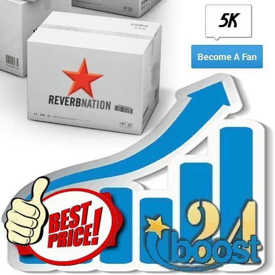 Buy 5000 Reverbnation Fans