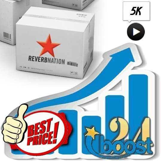 Buy 5000 Reverbnation Plays