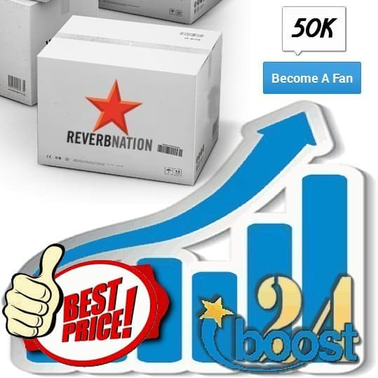 Buy 50.000 Reverbnation Fans