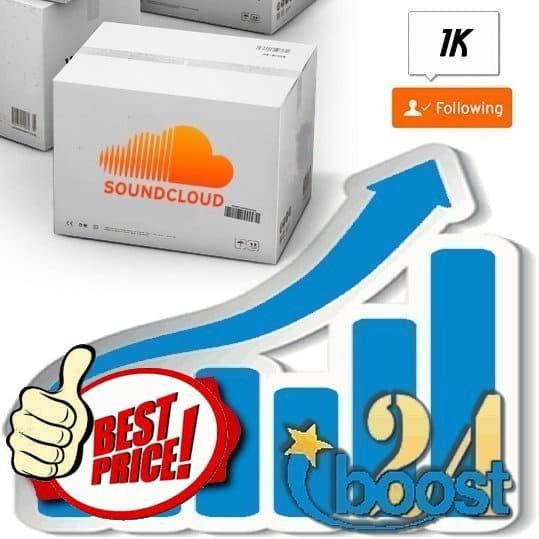 Buy 1.000 Soundcloud Followers
