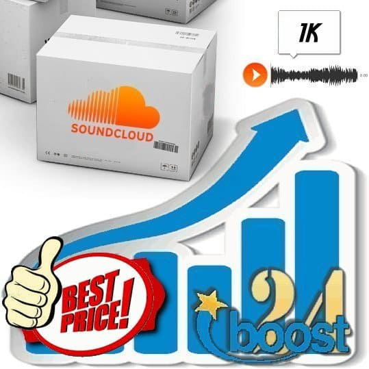 Buy 1000 Soundcloud Plays