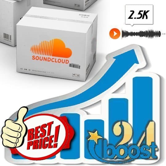 Buy 2.500 Soundcloud Plays