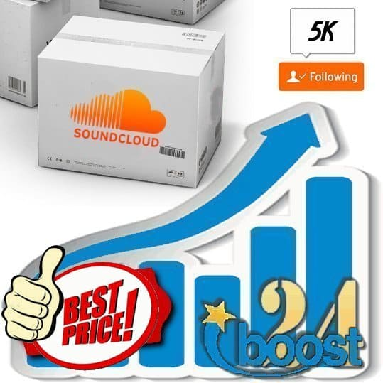 Buy 5000 Soundcloud Followers
