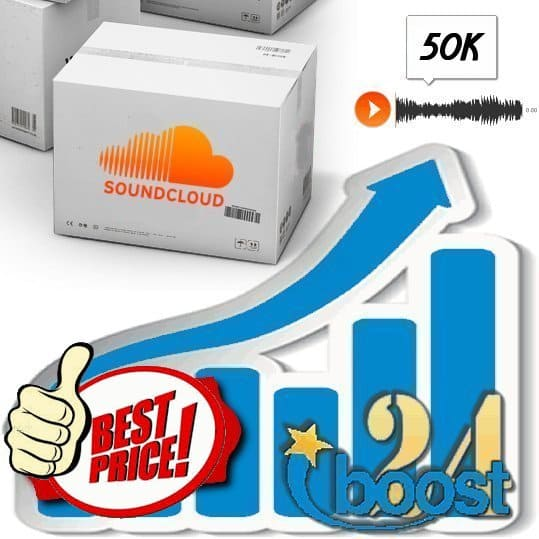 Buy 50.000 Soundcloud Plays