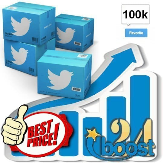 Buy 100.000 Twitter Favorites