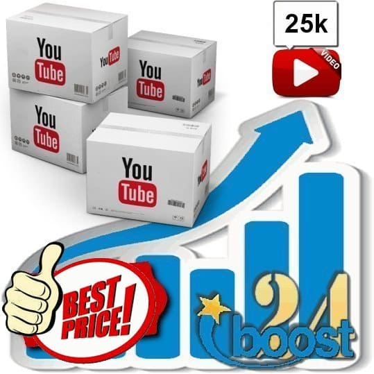 Buy 25.000 Youtube Views