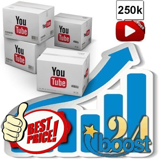 Buy 250.000 Youtube Views