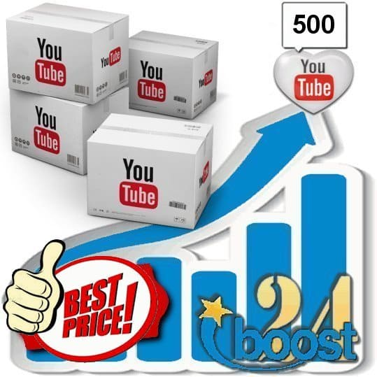 Buy 500 Youtube Favorites